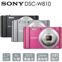 SONY 索尼推薦到SONY DSC-W810 數位相機 w810 公司貨