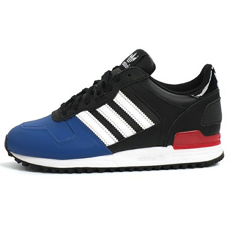ADIDAS ORIGINALS ZX 700 W 女鞋 慢跑 休閒 皮革 藍 黑 白 紅 【運動世界】 AQ3079