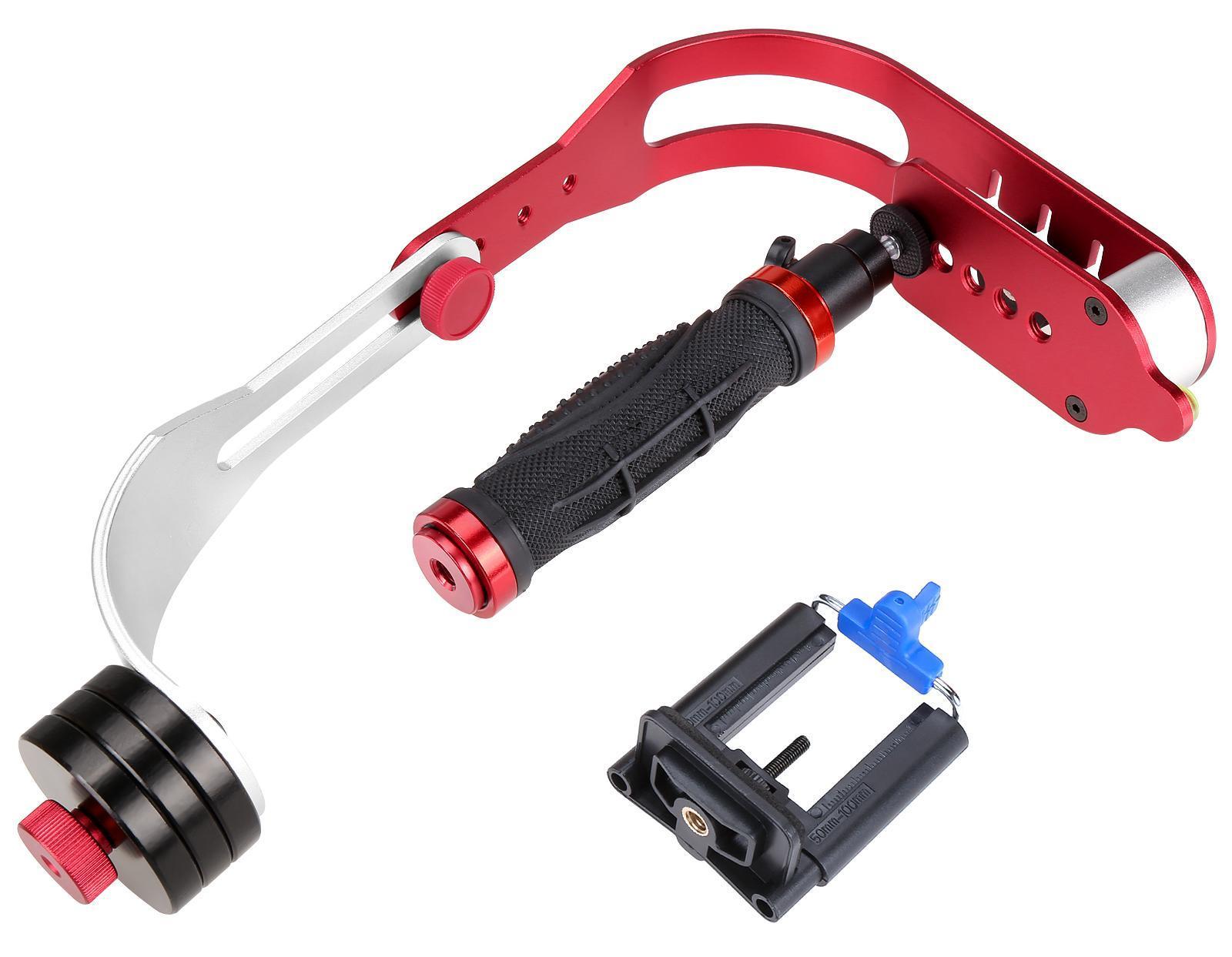 Hand-held Steady Cam Video Stabilizer Motion Steadicam Cam For DSLR Camera Camcorder 3