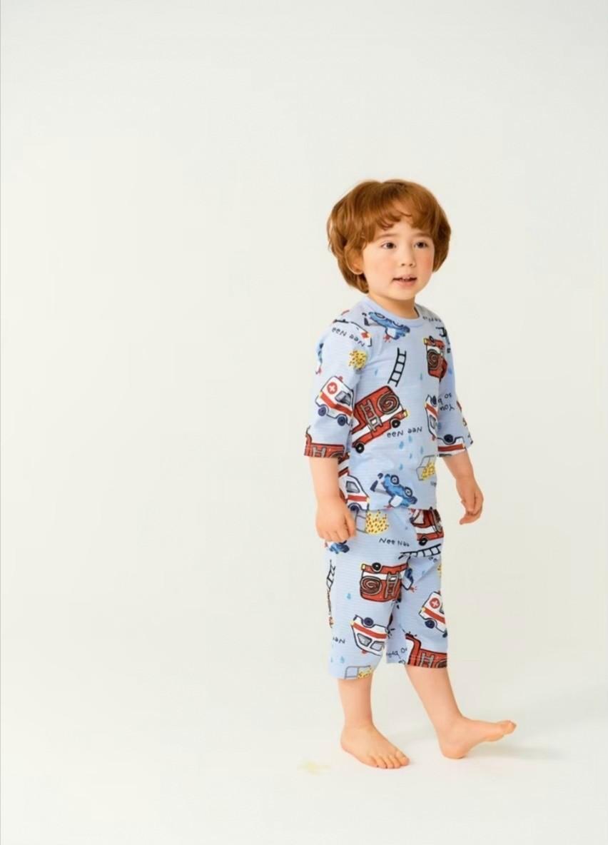 (預購)正韓國純棉 ttasom兒童居家服春夏款(七分袖)90-150cm 芒果姐姐童裝屋