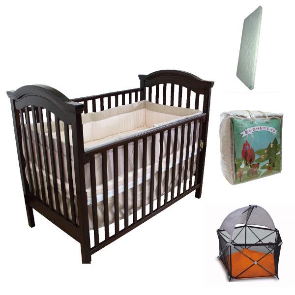 【限量促銷】童心 布朗特美式大床超值組合|嬰兒床好窩生活節