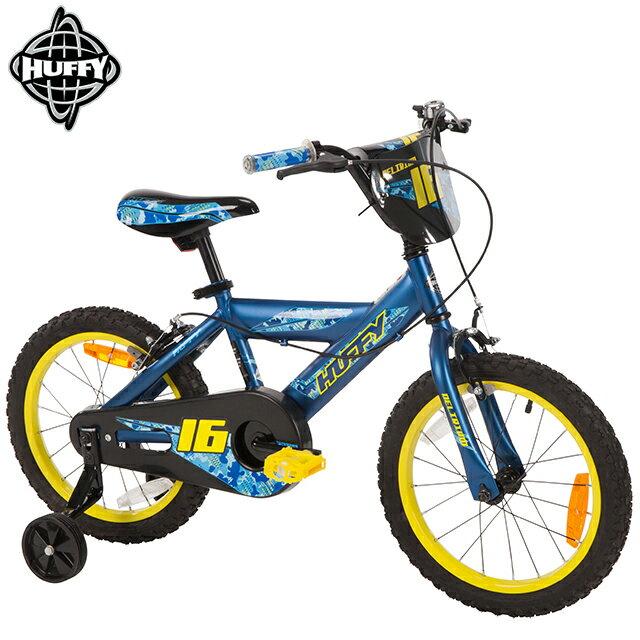 【美國HUFFY】2017新款16吋男童自行車Blue(兒童自行車,腳踏車,輔助輪)