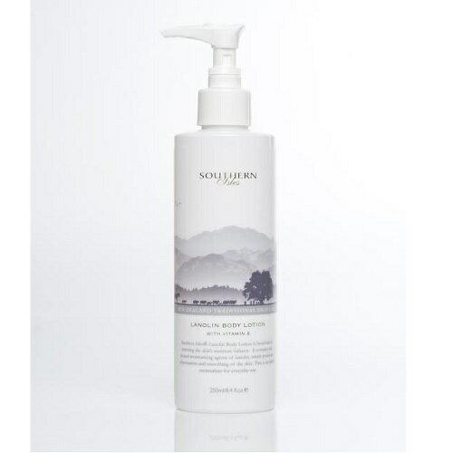 紐西蘭綿羊油KiwiCorp身體乳液250ml(SouthernIsles系列)