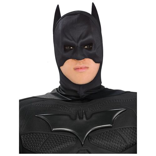 The Dark Knight Rises Deluxe Adult Batman Costume, Black, Medium 1