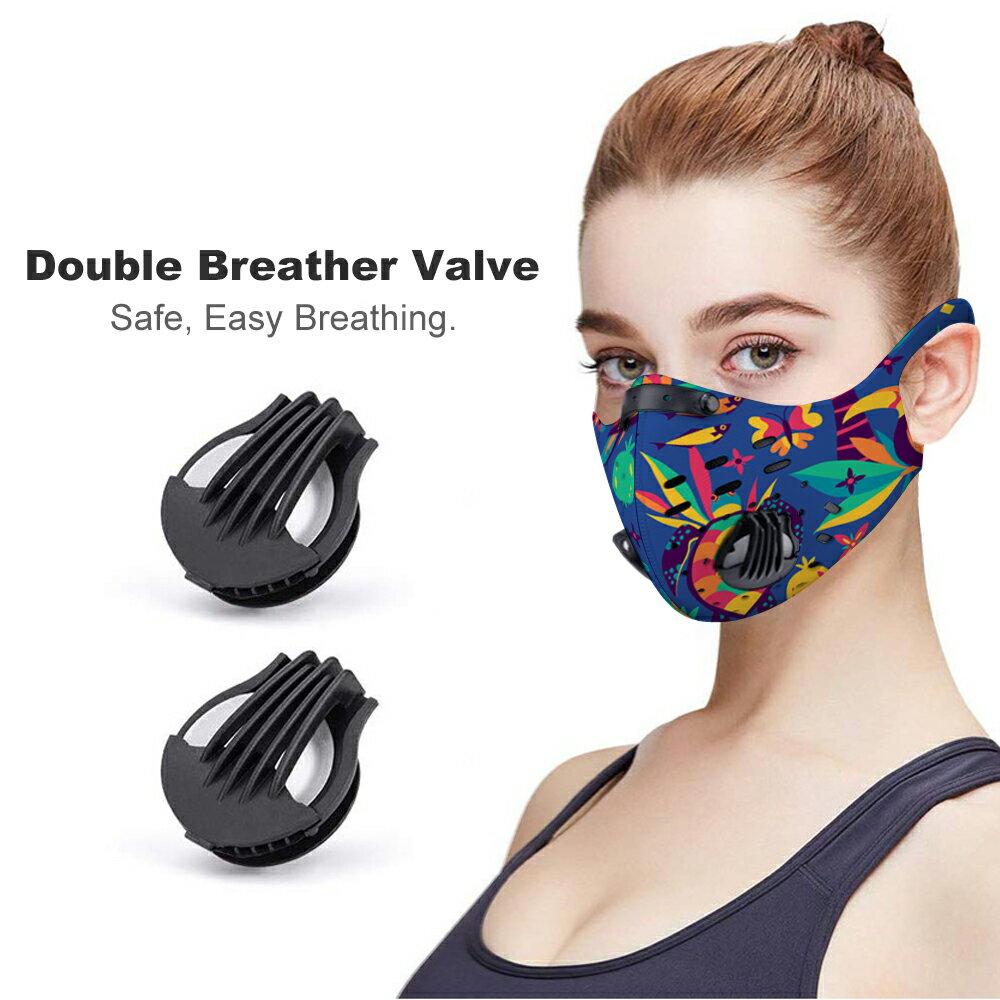 掛耳騎行口罩 (附濾嘴10組) 防風防塵 設計師產品