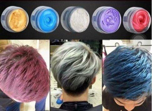 韓國宣谷變色髮泥/B彩色髮蠟/B造型髮泥/爺爺灰泥土 送禮自用 聖誕禮物 另售油頭髮蠟系列