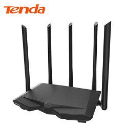 【Tenda 騰達】AC7 AC1200 雙頻無線路由器 黑鷹戰機【三井3C】