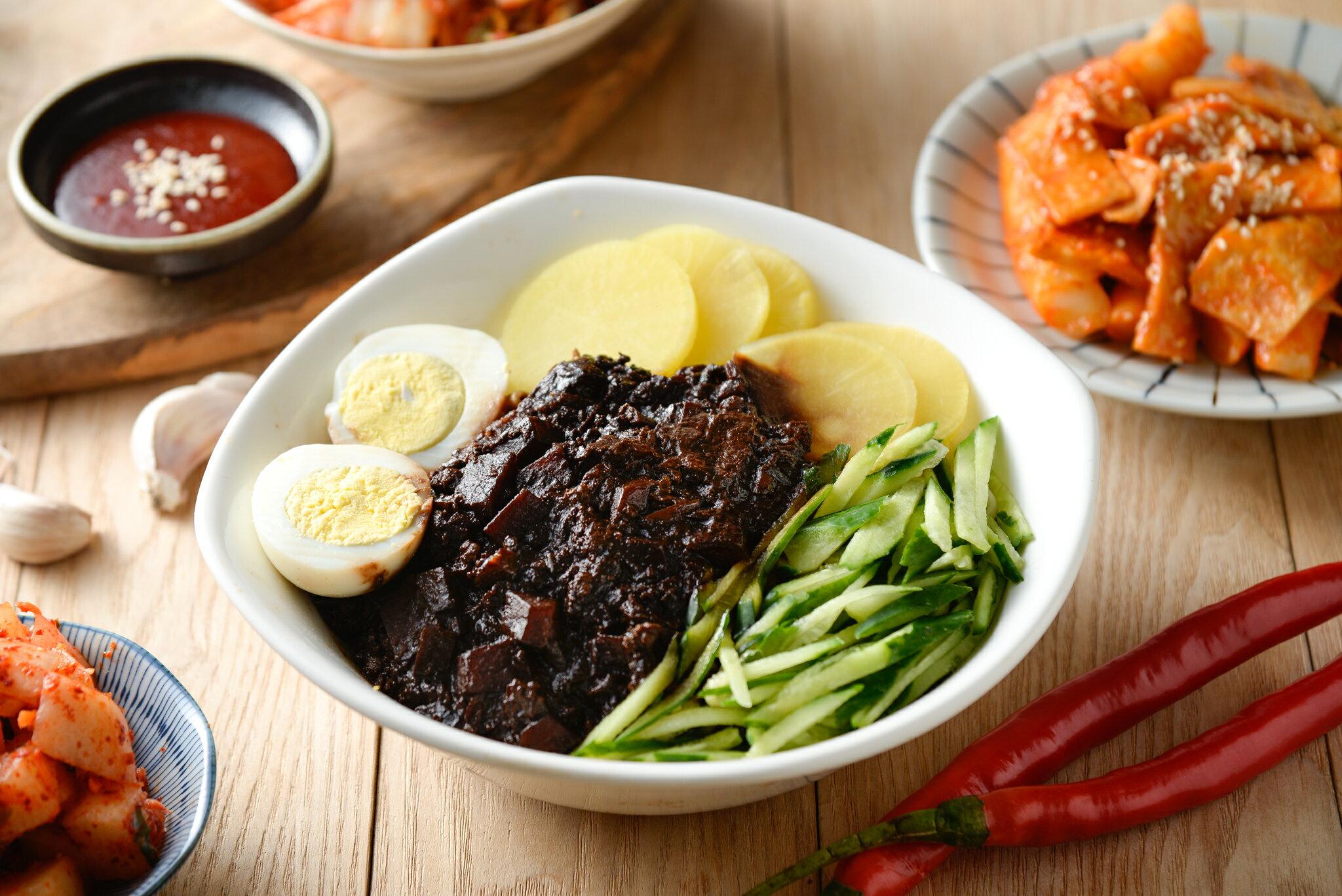 親古 韓式榨醬(小包裝) 內容量:小包裝300g (內無麵)