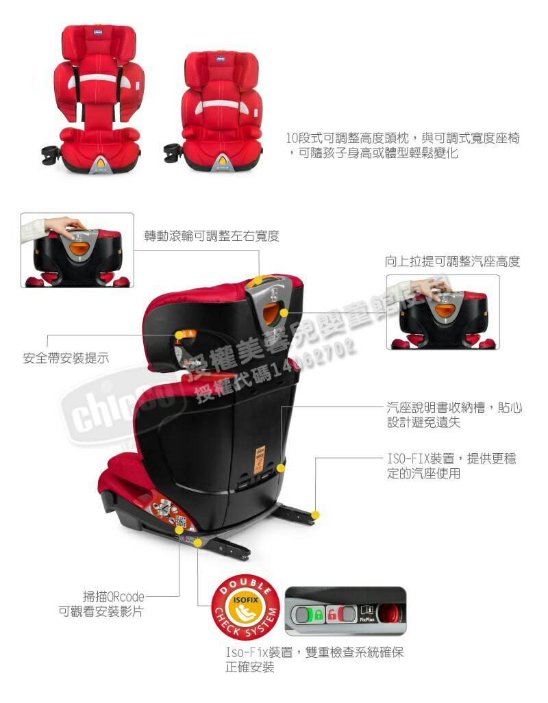 Chicco Oasys 2-3 FixPlus 安全汽座 / 汽車座椅(琉光金) 8900元 【來電另有優惠】 1