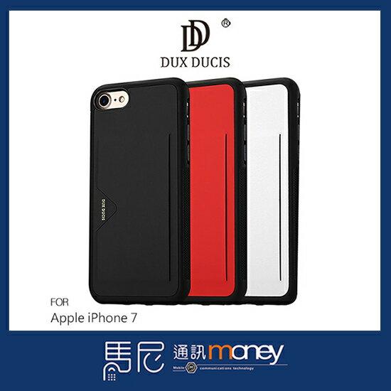 馬尼行動通訊:DUXDUCISPOCARD後卡殼AppleiPhone74.7吋手機殼插卡套TPU軟套【馬尼行動通訊】