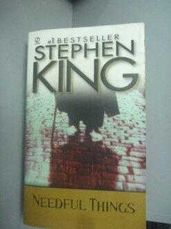 【書寶二手書T1/原文小說_KHX】Needful Things_King, Stephen