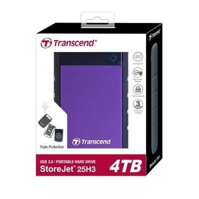 *╯新風尚潮流╭* 創見 H3P 2.5吋 行動硬碟 4T 4TB 超大儲存量 軍規三層抗震系統 TS4TSJ25H3P