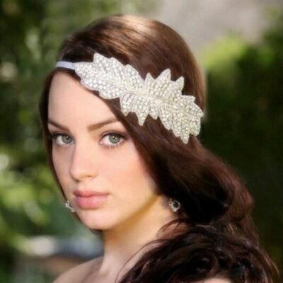 ~髮飾髮帶鑲鑽頭飾~ 高檔奢華氣質情人節生日 女飾品73ex30~ ~~米蘭 ~