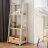 四層收納架 層架 書架 層櫃 A字收納-窄  /  寬款 日式木質收納層架 層架斜面架 樂嫚妮【CC-AJS1112】 1