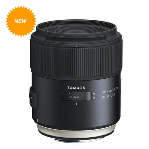 【ATM專區】Tamron SP 45mm F / 1.8 Di VC USD (Model F013) 大光圈 人像鏡  俊毅公司貨; 三年保固 1