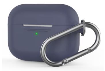AirPods Pro 耳機保護套【輕薄系列】矽膠掛勾保護套(1.4mm超薄連體式掛鉤款)蘋果周邊配件