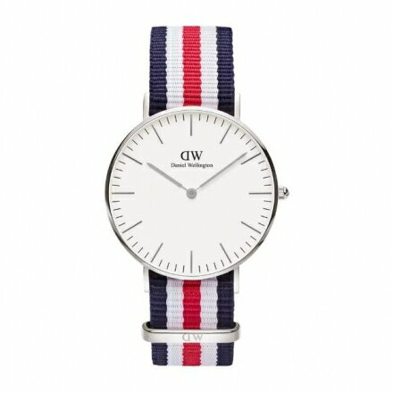 Daniel Wellington DW 瑞典簡約風格 36mm  尼龍  款 0606D