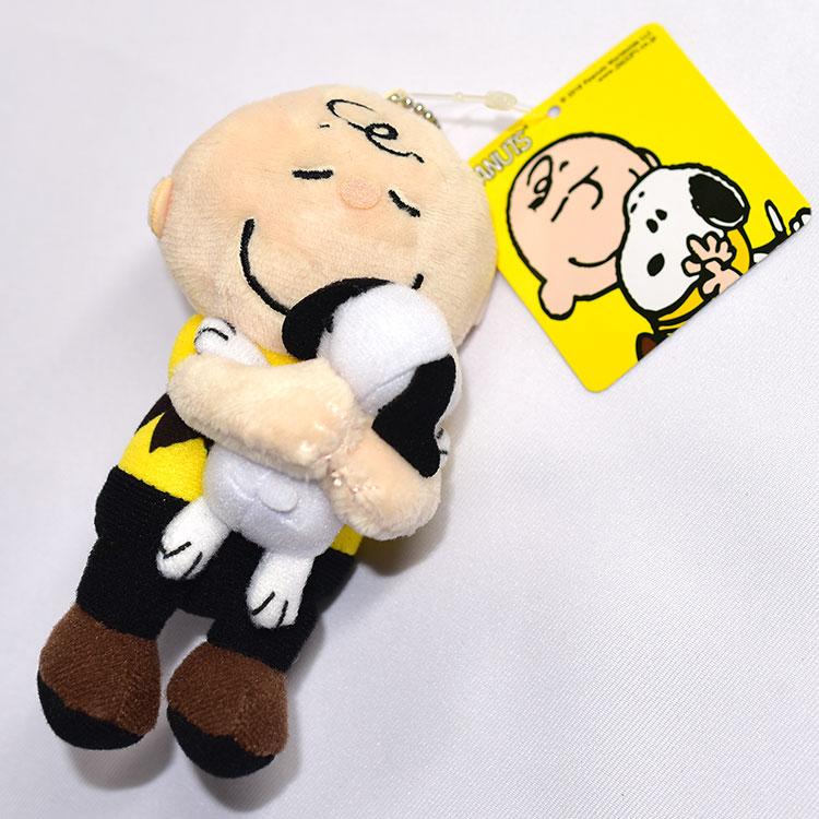 SNOOPY 史努比 查理布朗抱抱 吊飾 日本正版