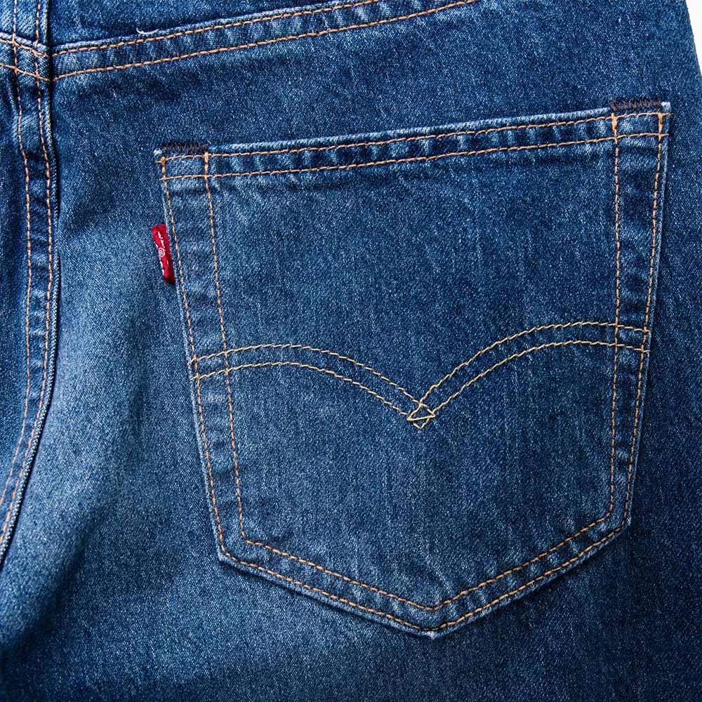 Levis 男款 511 低腰修身窄管牛仔長褲  /  破壞 6