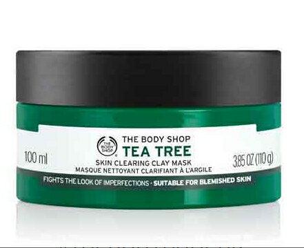 Realhome 英國 The Body Shop茶樹系列 淨荳面膜 新包裝