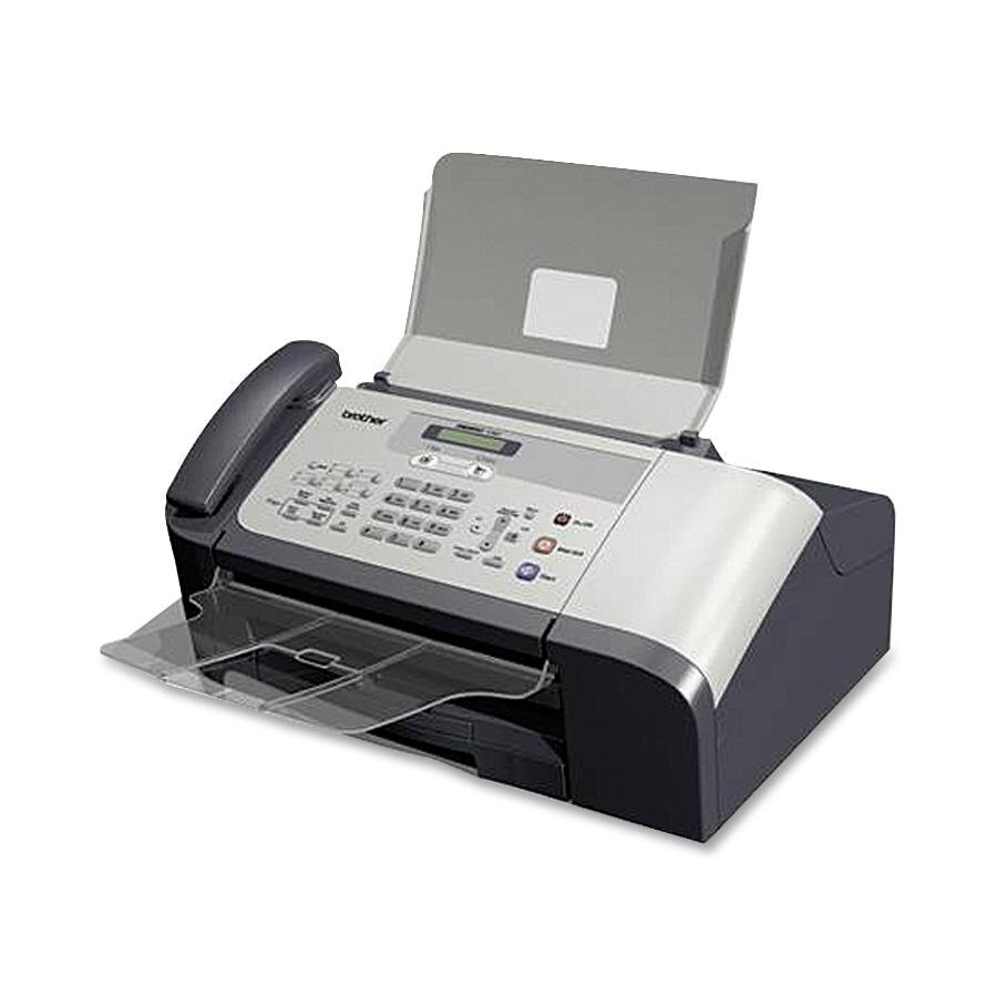 Brother IntelliFax-1360 Monochrome Inkjet Fax, Phone & Copier 0