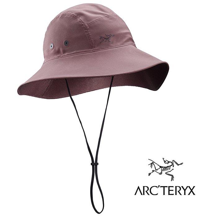【ARCTERYX 始祖鳥 加拿大】SINSOLA 遮陽帽 漁夫帽 抗UV 陶土褐 (L07344600)
