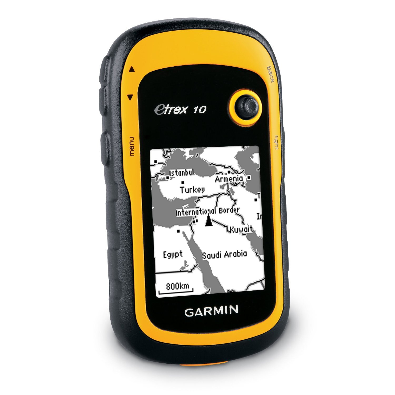 """Garmin eTrex 10 2.2"""" Handheld Worldwide Basemap Satellite GPS Navigator 0097-000 1"""