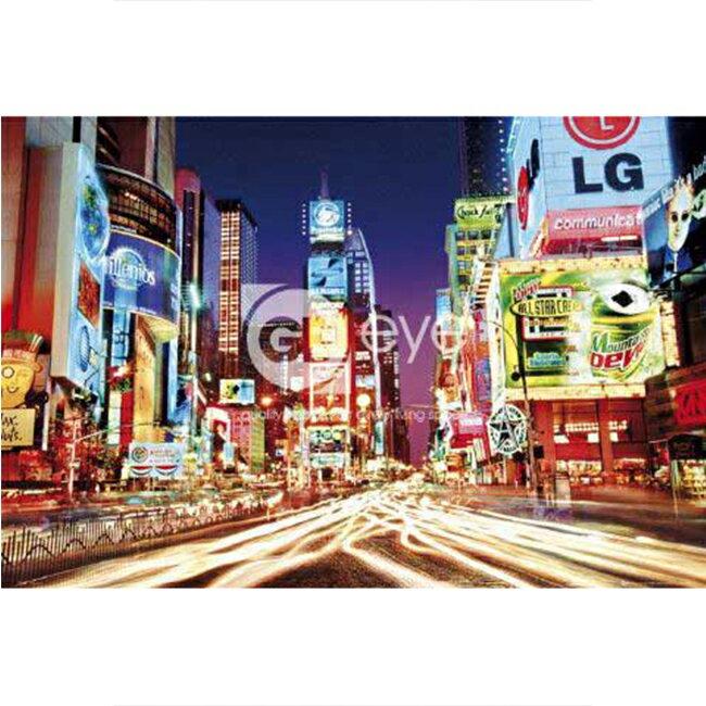 【P2 拼圖】夜光 紐約時代廣場(1000pcs)(75x50) HM1000-216