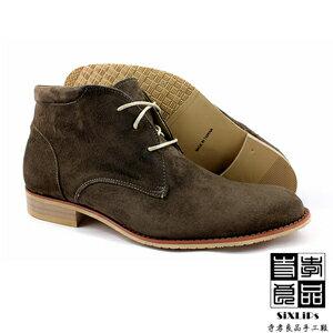 寺孝良品 英倫摩登牛巴戈沙漠短靴 咖啡 1
