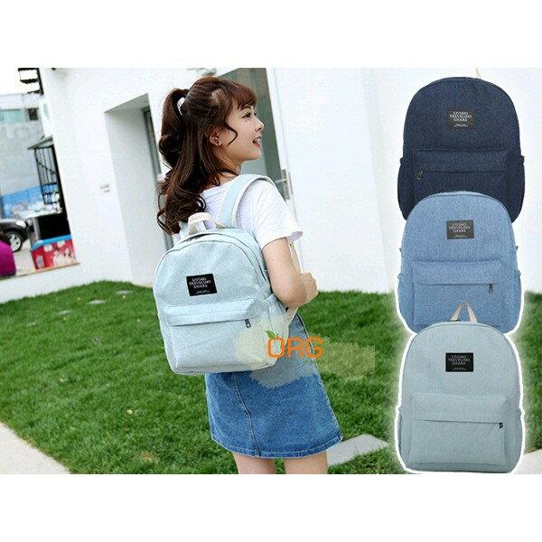 ORG~SG0147~ !日感~牛仔復古系 雙肩包 後背包 雙肩背包 書包 旅行袋 背包