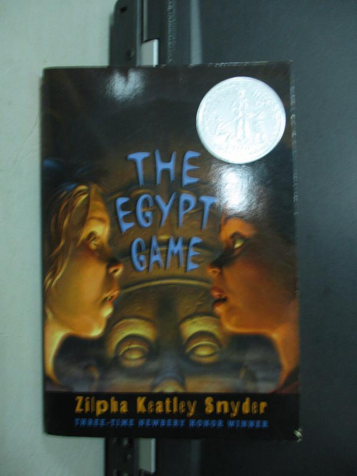 【書寶二手書T3/原文小說_NNW】THE EGYPT GAME_1967