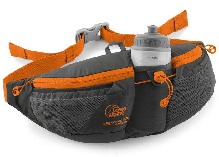 【鄉野情戶外專業】 Lowe Alpine |英國|LIGHTFLITE HYDRO 跑步水壺腰包-碳黑/FAD-35