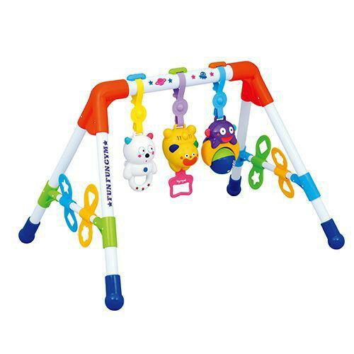 麗嬰兒童玩具館~樂雅專櫃-Toyroyal 二用音樂健力架 TF3805(新版) 0