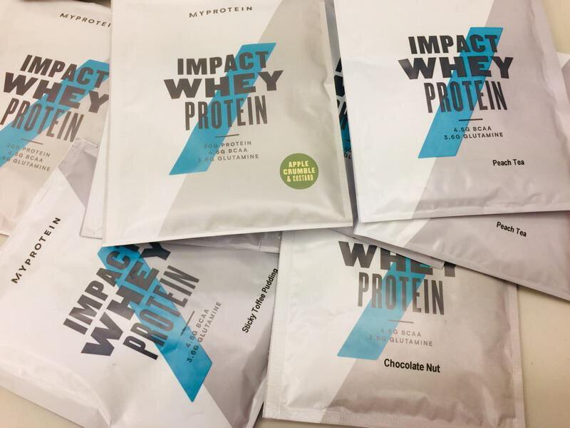 [現貨] 英國 MYPROTEIN  随身包 35g 濃縮乳清蛋白 官方授權經銷 開立發票 紙箱包裝