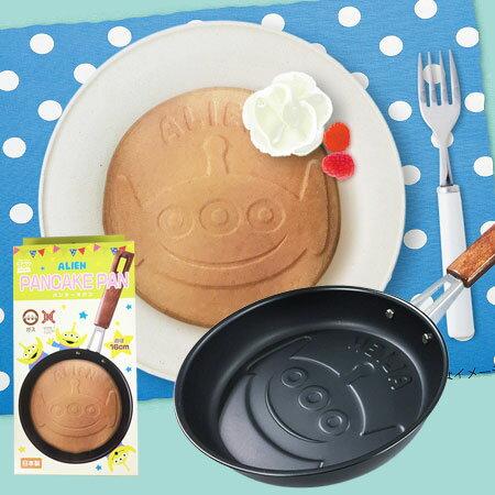 日貨 三眼怪造型不沾鬆餅烤盤 鬆餅鍋 鬆餅 鬆餅機 煎雞蛋鍋 煎蛋鍋 玩具總動員 皮克斯【N102082】