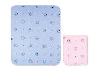【寶貝樂園】KUKU防滲水透氣墊(加大)(藍/粉)