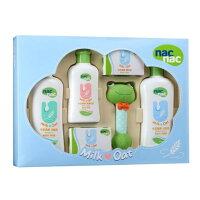 彌月玩具與玩偶推薦到nacnac 牛奶燕麥護膚禮盒(全配洗沐用品) 彌月禮-附提袋(麗嬰兒童玩具館)就在麗嬰兒童玩具館推薦彌月玩具與玩偶