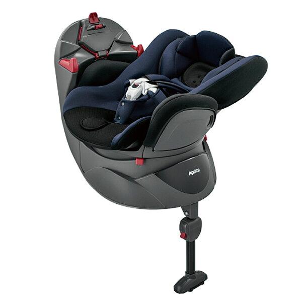 【麗嬰房】Aprica平躺型嬰幼兒汽車安全臥床椅FladeaSTD-紳藍海NV