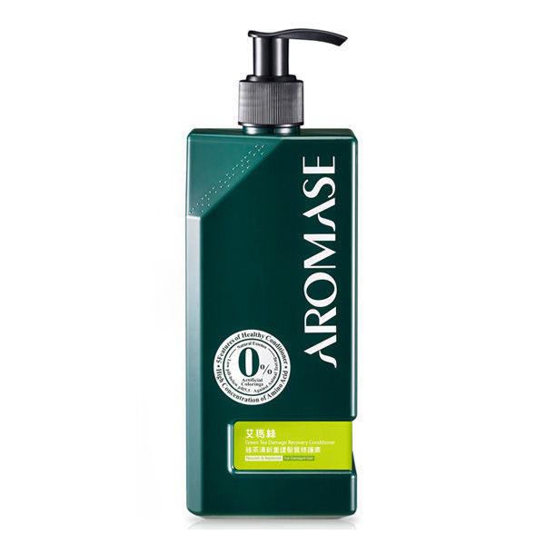Aromase艾瑪絲綠茶清新重建髮質修護素400mL