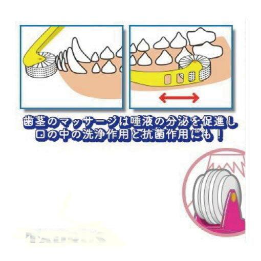 ☆寵愛家☆金牛座齒垢清光光旋轉牙刷山切形單輪-貓用