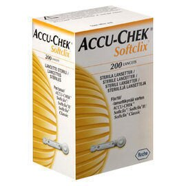 專品藥局 羅氏ACCU-CHEK 舒柔採血針SOFTCLIX 200支入(羅氏血糖機專用) 【2002592】