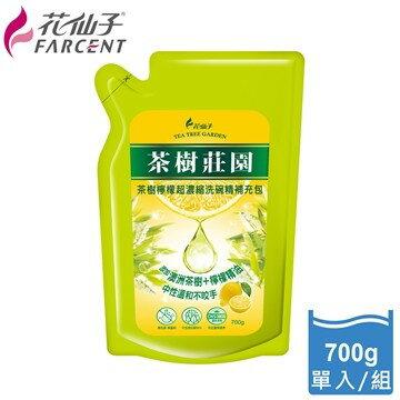 【茶樹莊園】茶樹檸檬超濃縮洗碗精-700ml補充包-JK2181Y