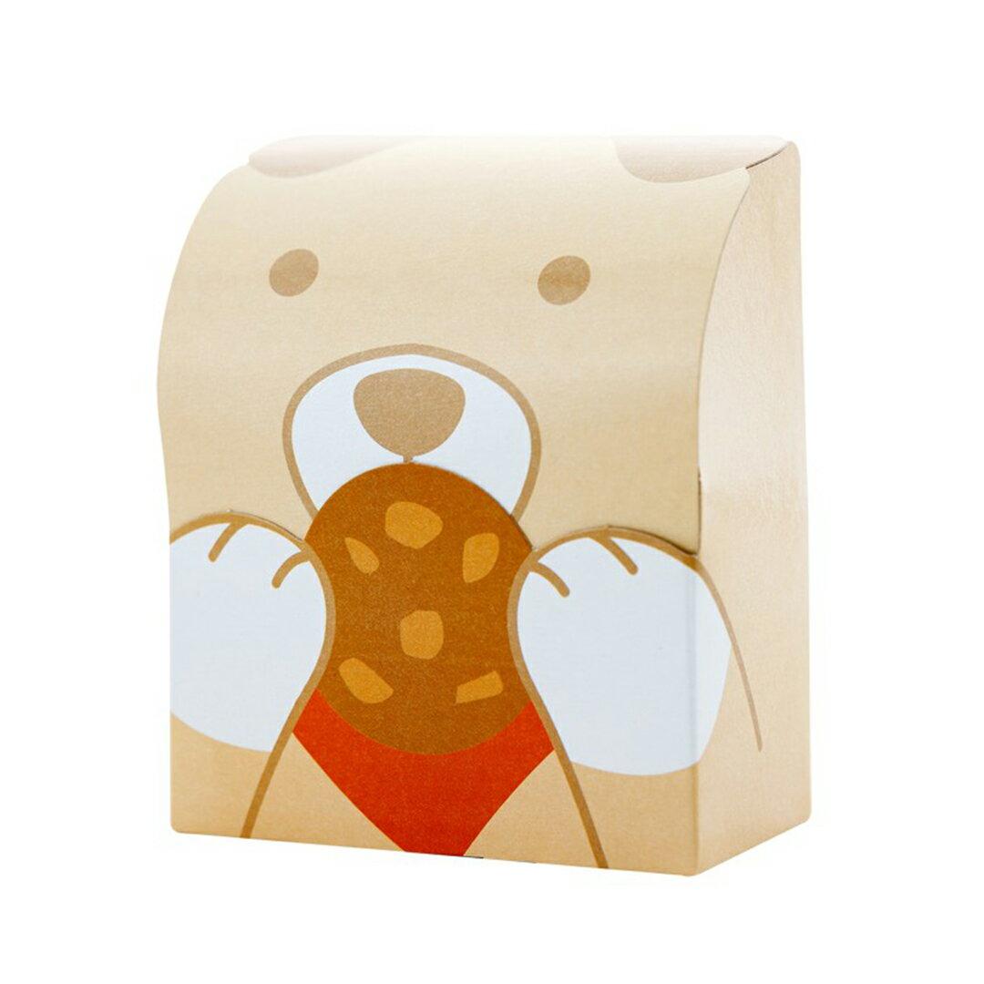 【不二緻果-高雄不二家】蔓越莓洛米雅手工餅乾-熊熊盒 ★港都81年老店 1