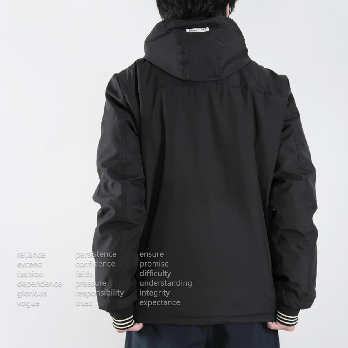 厚舖棉保暖風衣外套 時尚夾克外套 保暖外套 騎士外套 防風外套 休閒外套 鋪棉外套 黑色外套 時尚穿搭 WARM PADDED JACKETS WINDBREAKER (321-8783-01)軍綠色、(321-8783-02)黑色 2L 3L(胸圍50~52英吋) [實體店面保障] sun-e 7