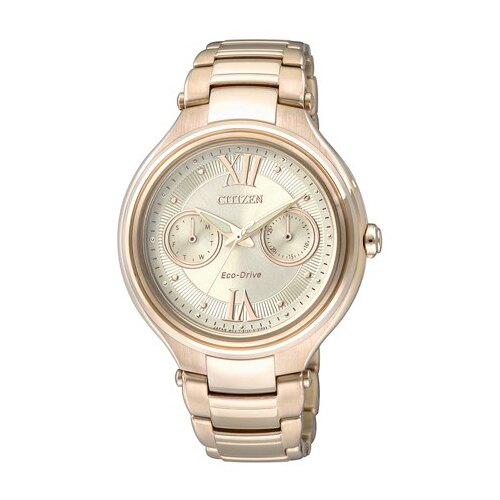 CITIZEN 星辰錶 FD4003-52P 光動能女錶