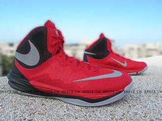 [26cm]《5折出清》Shoestw【806945-600】NIKE PRIME HYPE DF II EP 籃球鞋 紅黑 XDR耐磨