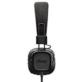 志達電子精品專賣:志達電子MAJORIIPitchBlack瀝青黑Marshall英國設計耳罩式耳機ForAndroidApple