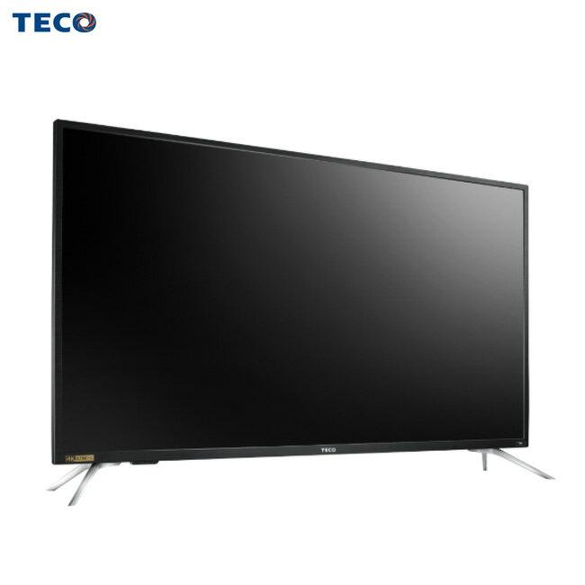 TECO 東元 TL55U5TRE 電視 55吋 真實4K + Smart 視訊盒TS1319TRA