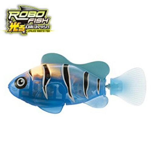熱帶魚【日本正版】ROBO FISH 歡樂寵物魚 LED 發光版 電子寵物 戲水玩具 洗澡玩具 - 524721