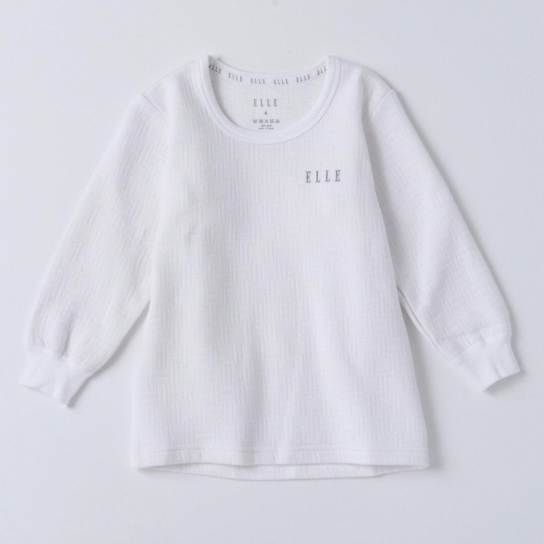ELLE 男童三層棉圓領長袖上衣【中揚精品】E2308A